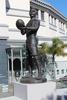 Detail, Eden Park, Gallaher statue, Auckland (photo J. Halpin, 2013) - No known copyright restrictions