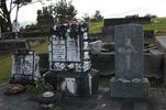 Becroft family plot, Helensville Cemetery (photo John Halpin 2010) - CC BY John Halpin