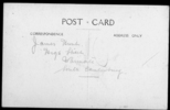 Portrait, WW1, studio photograph, postcard stamped, unfranked (back), James Arthur Hunt (7/2275) - No known copyright restrictions