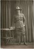 Portrait, standing, sleeve 2 stripes (kindly provided by family) - No known copyright restrictions