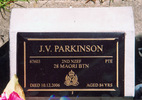 Gravestone, Opotiki Public Cemetery (photo P. Baker 2008) - This image may be subject to copyright