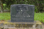 Headstone, Clevedon (formerly St Andrews) Presbyterian Cemetery, (photo J. Halpin 2011) - This image may be subject to copyright