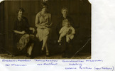 Family portrait of Elizabeth Mockford, Thelma Kelliher, Grandmother McLennan holding Valerie Kelliher provided by Joy Mockford 2012 - This image may be subject to copyright