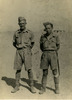 Eric McCurdy (right) with fellow soldier in Egypt (image provided by John Ross) - This image may be subject to copyright