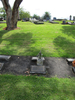 Wide view grave at Papakura Cemetery provided by Sarndra Lees 2012 - This image may be subject to copyright