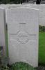 Headstone, Lijssenthoek Military Cemetery (Photo Peter Bennett 2009) - No known copyright restrictions