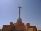 Cross of Sacrifice at Knightsbridge Cemetery, Libya (photo Mrs Downing 2005) - This image may be subject to copyright