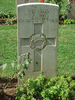 Headstone, Cassino War Cemetery (photo B. Coutts, 2009) - This image may be subject to copyright