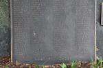 Takapuna War Memorial, (ex RSA Roll, on a boulder) detail, (photo John Halpin, August 2013) - CC BY John Halpin