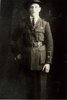 Portrait of Harry Laurent in uniform provided by Ross Beddows 2007. - This image may be subject to copyright