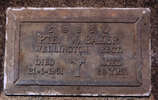 Gravestone, Maunu Cemetery, photographed by Paul Baker. - No known copyright restrictions