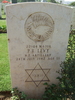 Headstone, Philip Braham Levy (22984), Heliopolis War Cemetery, Egypt (photo B. Coutts, 2009) - This image may be subject to copyright