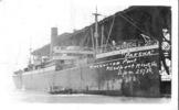 "Pakeha (ship) postcard, not franked front: ""Pakeha American Port, Newport Mews, Va April 25 [19]19"" - No known copyright restrictions"
