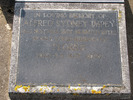 Headstone, Alfred Sydney Impey, Mangere Cemetery (photo provided by Sarndra Lees, January 2012) - Image has All Rights Reserved.