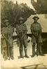 Eric Henry McCurdy (left) with fellow soldiers (image provided by John Ross) - This image may be subject to copyright