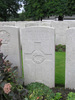 Headstone, Lijssenthoek Military Cemetery, wide view (Photo Peter Bennett 2009) - No known copyright restrictions