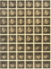 Portrait, Studio contact sheet of 48 head and shoulder shots of Royden Leslie Nugent - This image may be subject to copyright