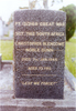 Headstone, St Saviours Anglican Churchyard, Kaitaia, CBN Dunn's recently restored gravestone (photo R Beddows, 2006) - No known copyright restrictions