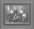 Family group WW1, Soldier and 6 siblings - No known copyright restrictions