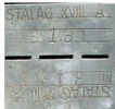 POW identity tag, A Jobling, Stalag VIIIA. 3131 - This image may be subject to copyright