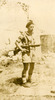 Eric Henry McCurdy with rifle (image provided by John Ross) - This image may be subject to copyright