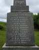 Names plinth, fallen comrades, Waiotemarama memorial, Northland, supplied by GA Fortune 2008 - Image has All Rights Reserved