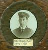 Portrait, Archibald Duff, Sub Lieutenant, Engineer, Royal Naval Reserve, Dundee Scotland, 1918 - No known copyright restrictions