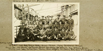 WW1 Officers on HMNZT Tahiti - No known copyright restrictions