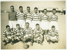 Group, Football team, WW2, Bill Smeith middle bottom (kindly provided by W Smeith's daughter) - This image may be subject to copyright
