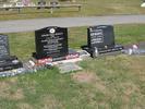 Row gravestones, Kauae Cemetery, Rotorua (photo Sarndra Lees, February 2010) - This image may be subject to copyright