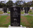 Headstone, Mt Wesley Cemetery, Dargaville, (photo 2013) - This image may be subject to copyright