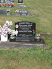 Headstone, Kauae Cemetery, long view (photo S Lees 17 January 2010 ) - This image may be subject to copyright