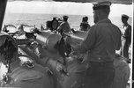 Conducting torpedo firing practice aboard HMNZS Bellona - This image may be subject to copyright