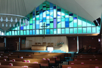 Interior, St Georges Presbyterian Church, Takapuna - This image may be subject to copyright