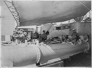 Conducting torpedo firing practice aboard HMNZS Bellona (Bw) - This image may be subject to copyright