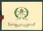 Christmas Greetings Card 1918-19, 1st MG Squadron, (cover) James Arthur Hunt (7/2275) - No known copyright restrictions