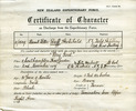Certificate of Services in the New Zealand Expeditionary Forces - No known copyright restrictions