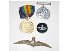 Ivo Carr War Medals - No known copyright restrictions