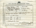 Certificate of service on Board HMS Philomel, 1919 - No known copyright restrictions