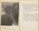 Nugent, Royden Leslie (NZ427846). Diary, WW2. Aerial photo, Nordgullen after the mosquito attack [p9] - This image may be subject to copyright