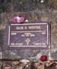 Gravestone, Taradale Cemetery Jack Samuel Winter (203999) - This image may be subject to copyright