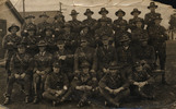 Group Photo WW1 , Wakai Mid Rifles. - This image may be subject to copyright