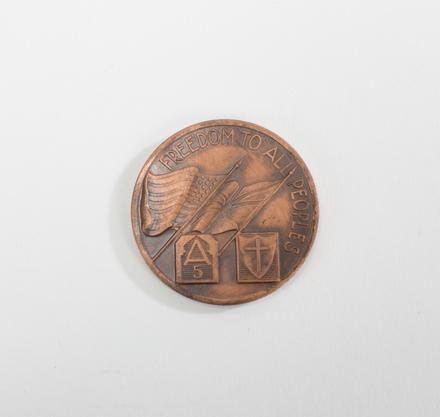 Porter - Liberation of Florence medal - 2014.21.7