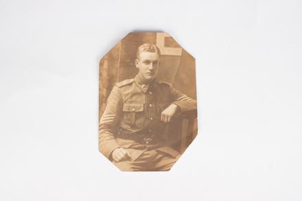 Portrait 24/1310 George  Burton Escott Russell, WW1; 2014.21.39