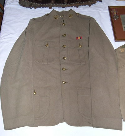 tunic, military