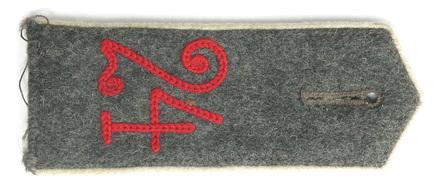 shoulder strap, German