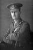 1/4 portrait of Lieutenant Harold Dixon Buddle, Reg No 24344, New Zealand Rifle Brigade 22nd Reinforcements, - J Company. (Photographer: Herman Schmidt, 1917). Sir George Grey Special Collections, Auckland Libraries, 31-B2666. No known copyright.