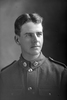 3/4 portrait of Private Alexander Angus Bell, Reg No 44892, Specialist Company, Signal Section. (Photographer: Herman Schmidt, 1917). Sir George Grey Special Collections, Auckland Libraries, 31-B2986. No known copyright.