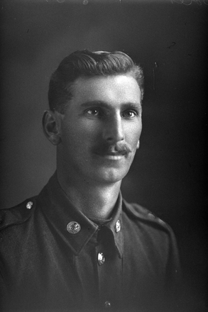 1/4 portrait of Charles Robert Boler [Previously identified as Albert Leonard Boler] (Photographer: Herman Schmidt, 1917). Sir George Grey Special Collections, Auckland Libraries, 31-B3000. No known copyright.