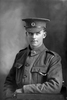 1/4 portrait of Trooper Albert Hugh Delaney, Reg No 11/1789, 7th Reinforcements, Wellington Mounted Rifles. (Photographer: Herman Schmidt, 1915). Sir George Grey Special Collections, Auckland Libraries, 31-D382. No known copyright.